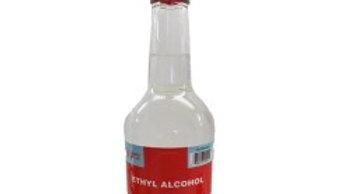 80% ETHYL ALCOHOL 750ML 25 OZ GLASS BOTTLE
