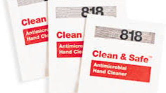 CleanTex CT818 Clean and Safe Hand Cleaner Wipes 72/box