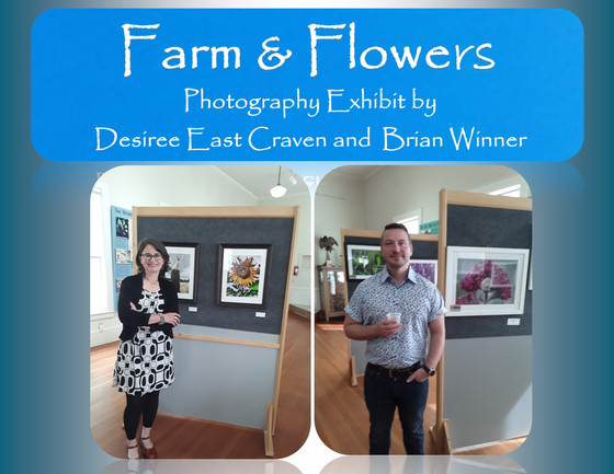 Farm & Flowers Photography Exhibit Runs Through May 26th