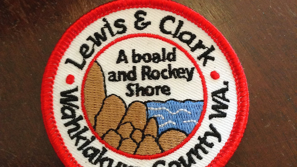Patches-Lewis & Clark - Wahkiakum & Grays RIver