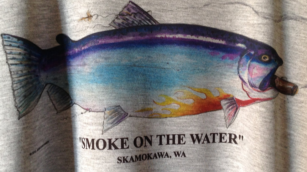 Smoke on the Water Skamokawa, WA T-Shirt