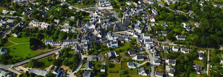 Vue aérienne de Baden