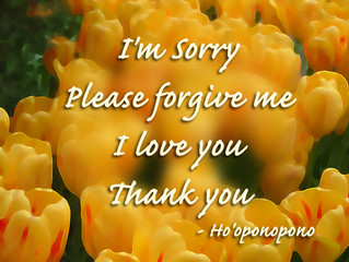 Finding it Hard to Forgive Yourself or Others? Try The Ho'oponopono