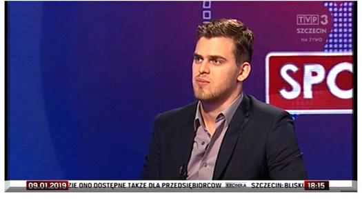 Kronika TVP3 Szczecin - wywiad
