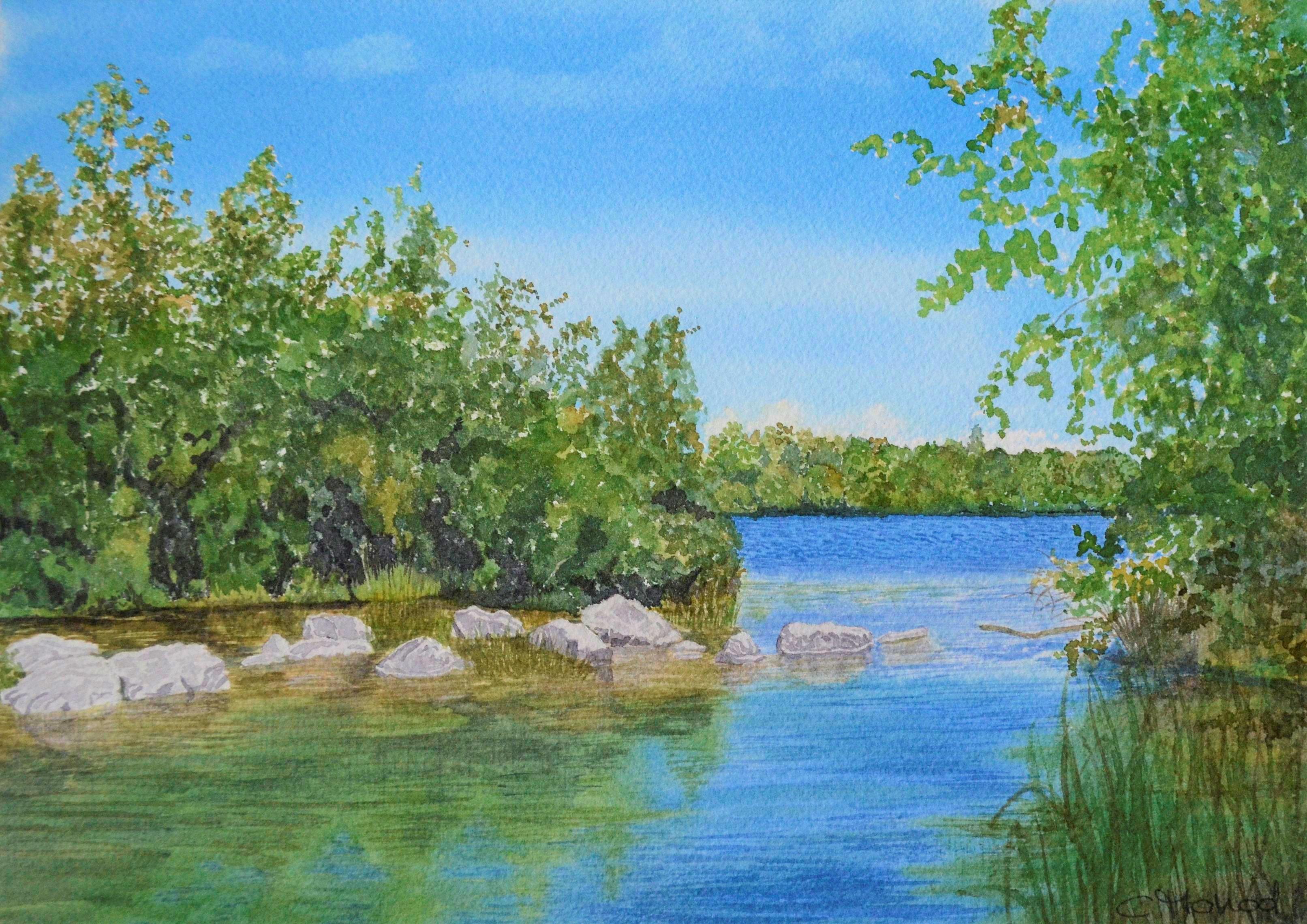 Lac des Ramières