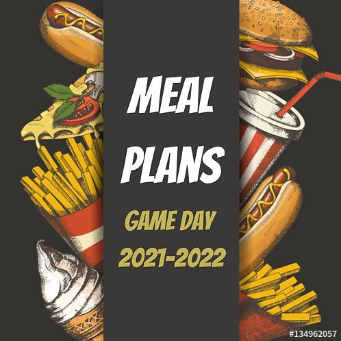Game Day Meal Plans 2021-2022
