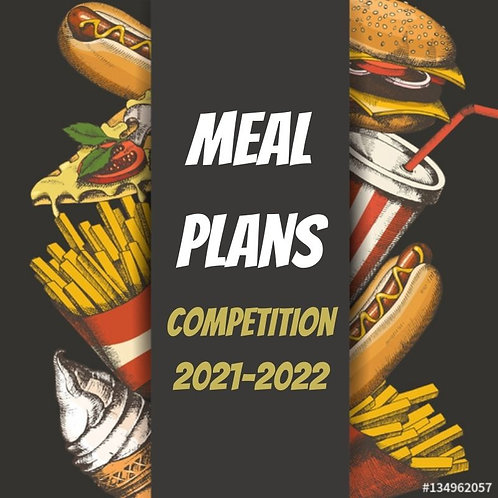 Competition Meal Plans 2021-2022