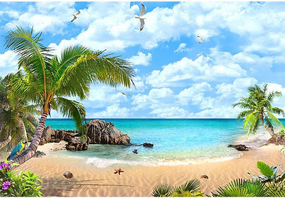 Beach-Photography-Backdrops-Ocean-Luau-B