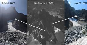 Lathrop Glacier is gone