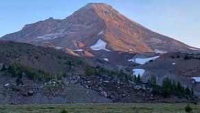 Oregon's new glacier on KOIN in Portland
