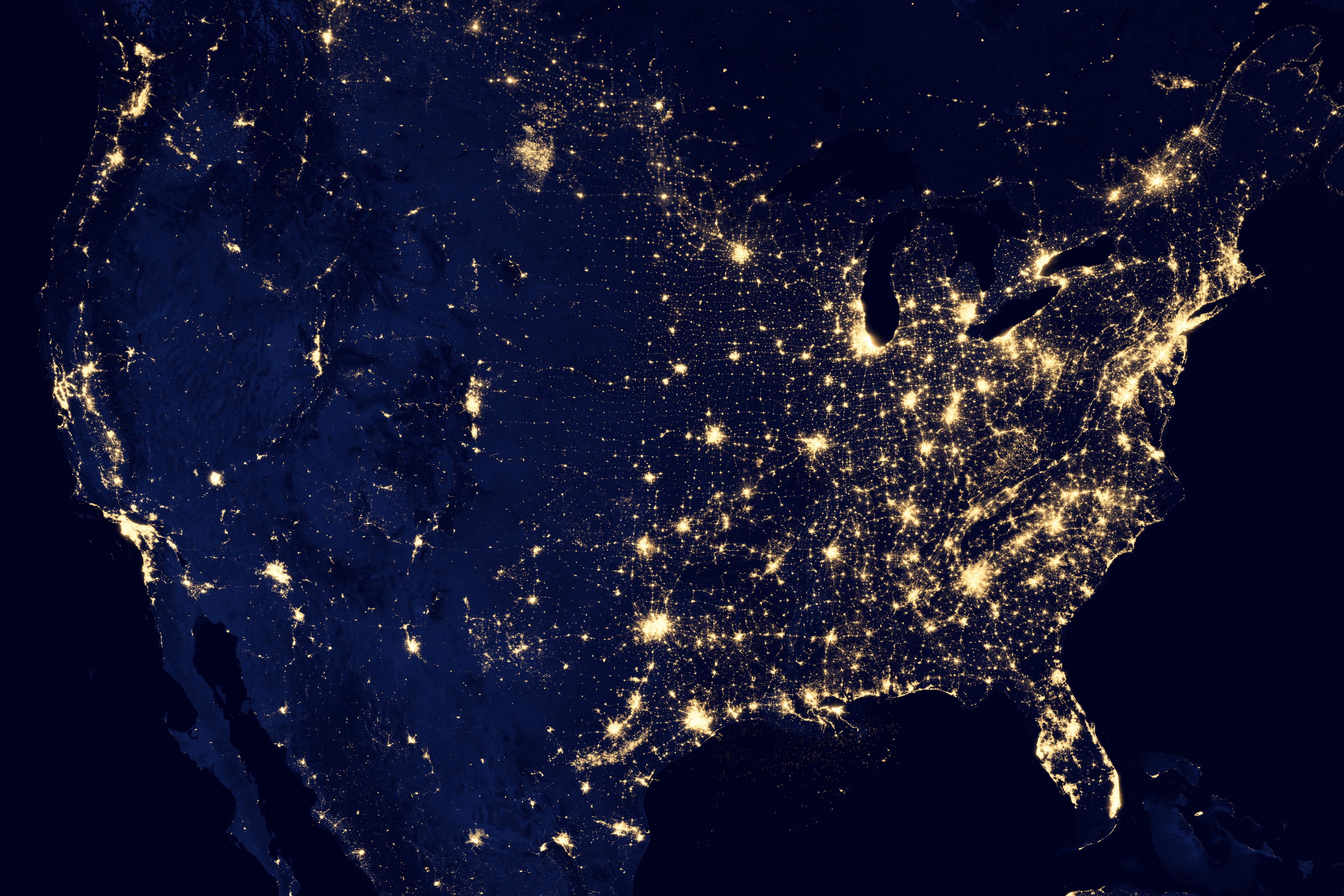 USA Lichter