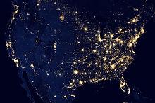 USA Światła