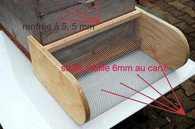 protection ruche / halteauxguêpes27