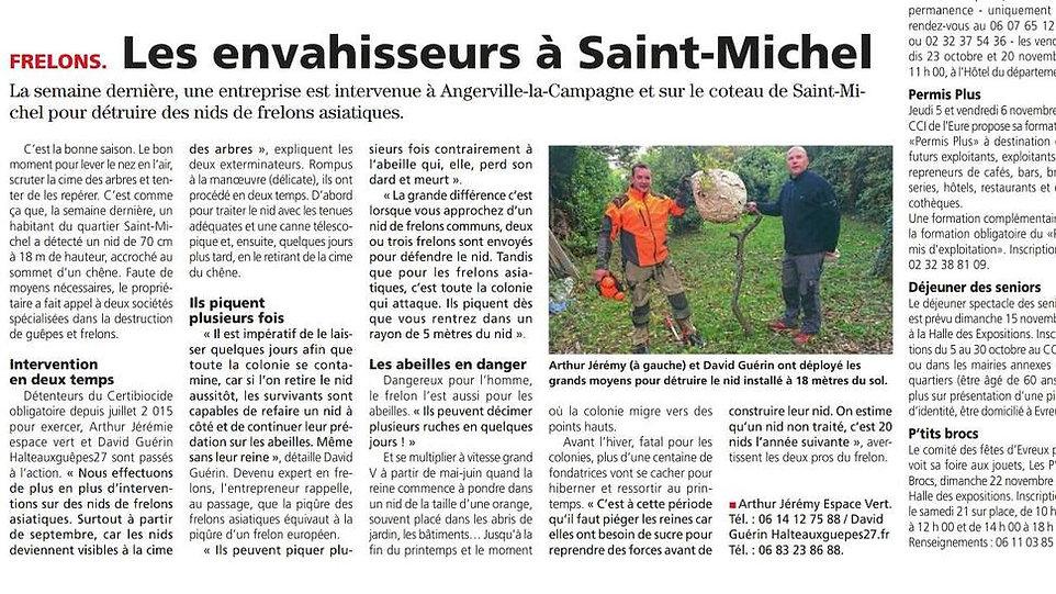 article de presse halteauxguepes27