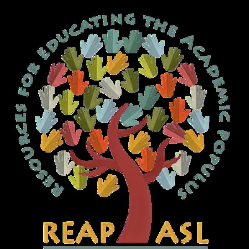 TAP ReapASL Sign Language Enrichment (Spring Semester 2020)