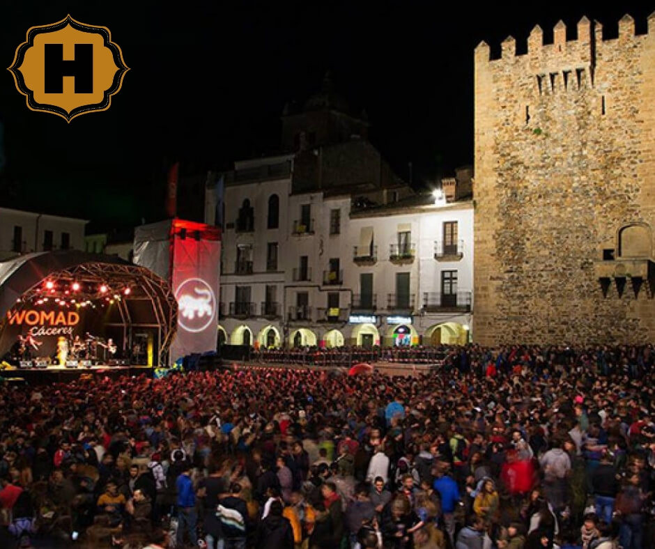 alojamiento womad caceres