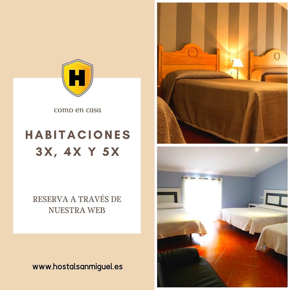 Habitación Triple en Trujillo