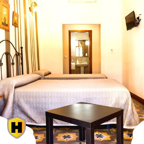 Habitación Doble en Trujillo