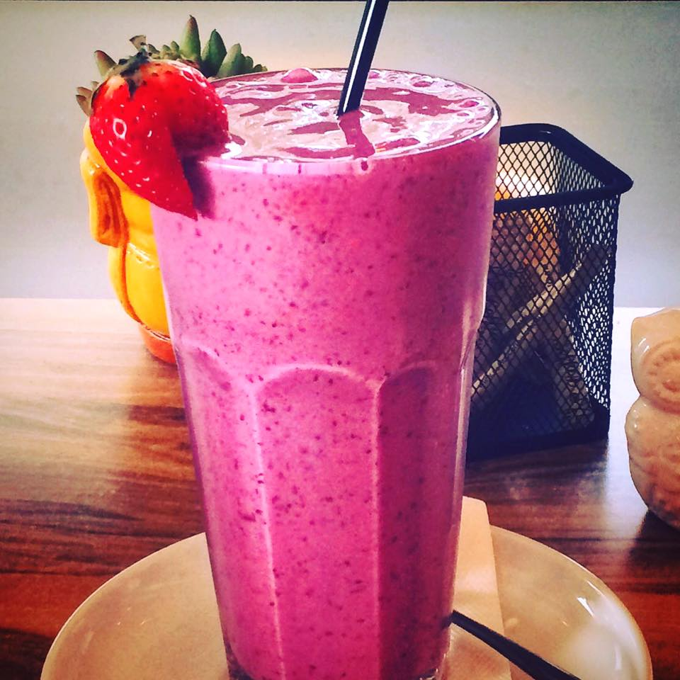 Berry Vanilla Smoothie