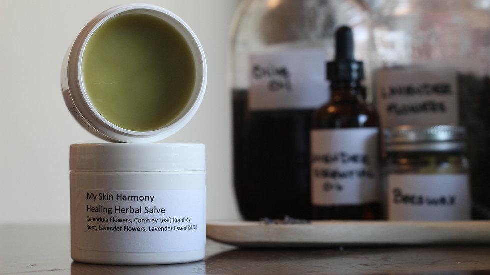 HEALING HERBAL SALVE - 2oz.