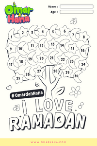 Free Printable Ramadan Tracker Omar & Hana