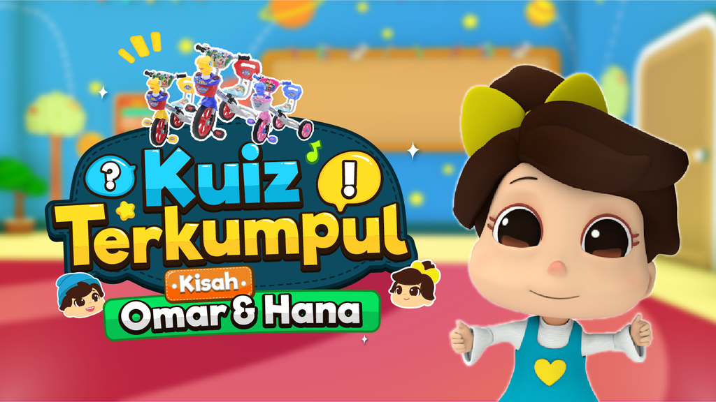 Omar & Hana | Islamic Songs for Children | Malaysia |
