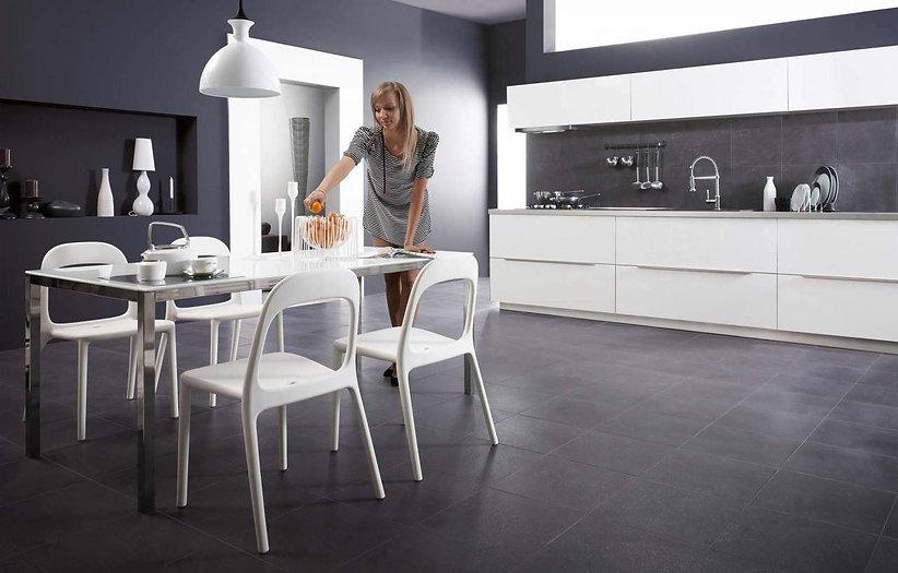 Современный стиль в интерьере , керамогранит в дизайне интерьера