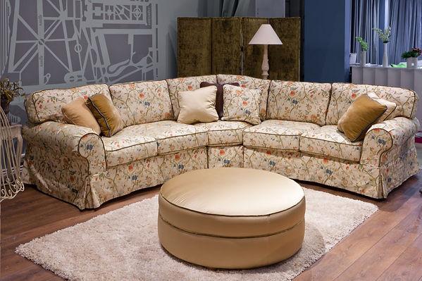 Диван угловой в дизайне интерьера, диван для гостиной