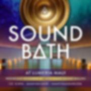 Lumeria, maui, sound bath, sound healing, meditation, maui event, community