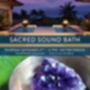 sound healing, maui, sound bth, spa montage, montage, kapalua bay, meditatin, shanti sound healing, maui events, shanti