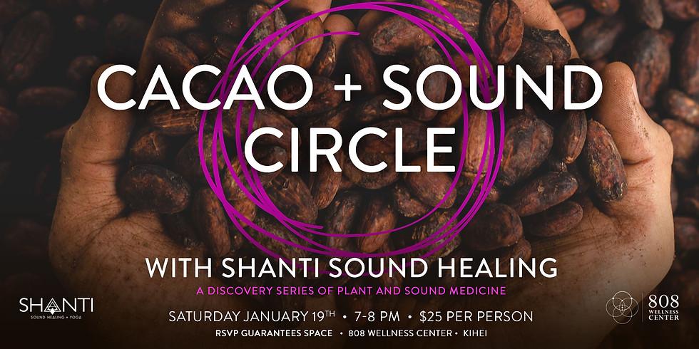 Cacao + Sound Circle @ 808 Wellness