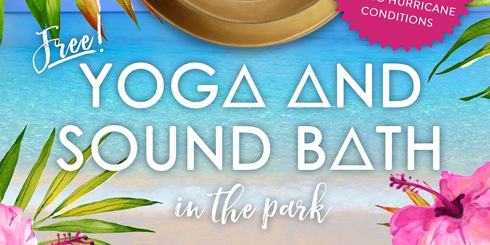 Free Gentle Yoga & Sound Bath in the Park