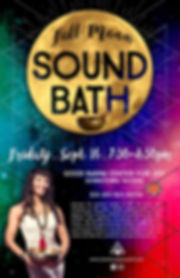 Sound Healing Tacoma Christina Felty Sound Bath PNW Full Moon