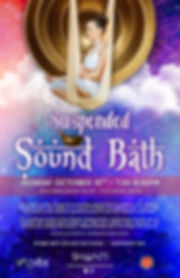 Suspended Sound Bath, Sound Healing, Tacoma, Christina Felty, Sound Bath, PNW