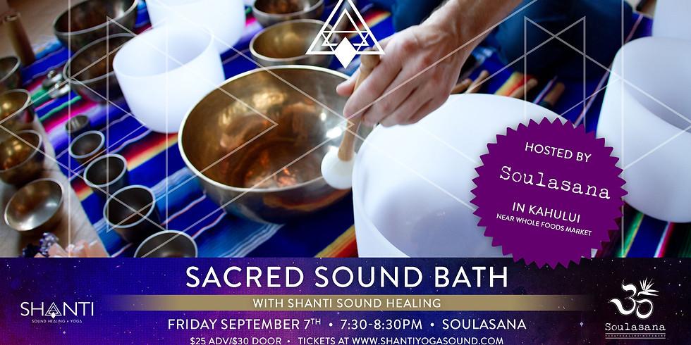 Sacred Sound Bath at Soulasana