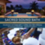 sound healing, maui, sound bth, spa montage, montage, kapalua bay, meditatin, shanti sound healing, maui events, october, shanti