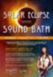 Shanti, Suspended Sound Bath, Sound Bath, Sound Healing, Solar Eclipse, Seattle, Tacoma, Meditation,