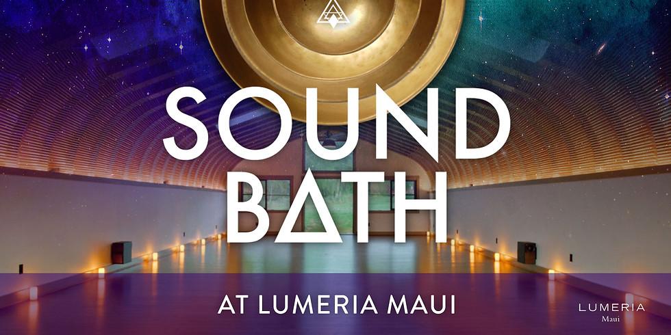 Shanti Sound Bath @ Lumeria August 30th