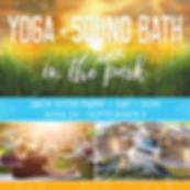 Yoga, Yoga in the Park, Sound Healing, Tacoma, Christina Felty Sound Bath PNW, Suspended Sound Bath, Sound Healing, Singing Bowls, Meditiation, Yoga, Park, Tacoma, Meditation