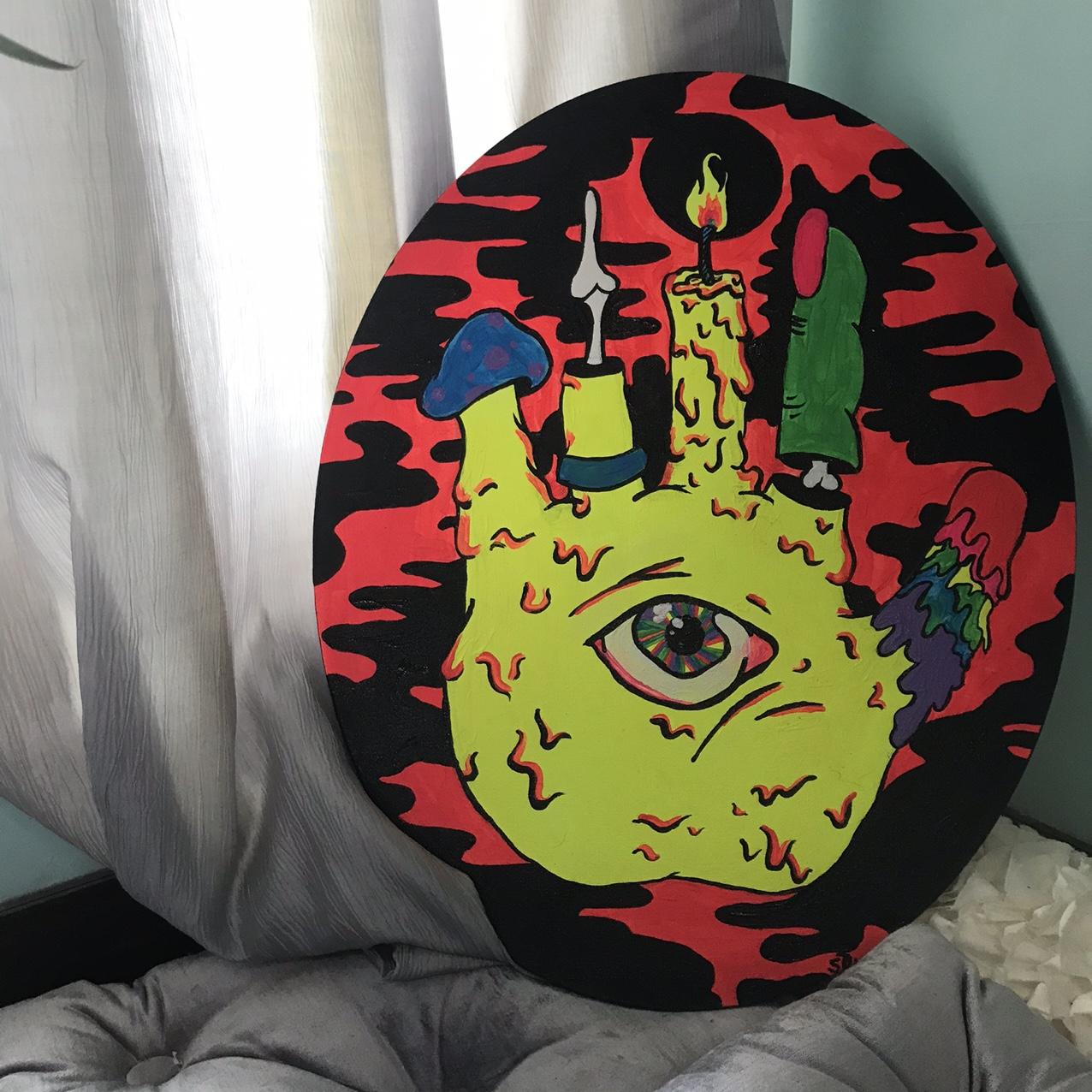 Tarot Original Painting