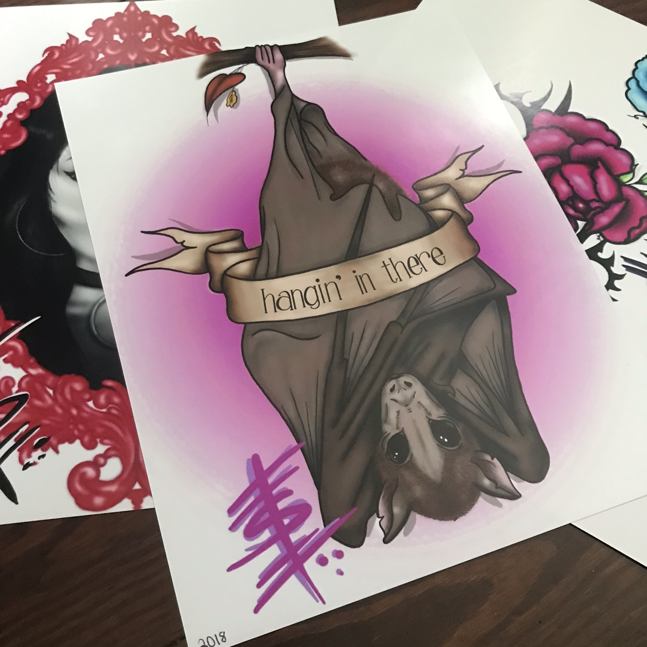 Batty Print