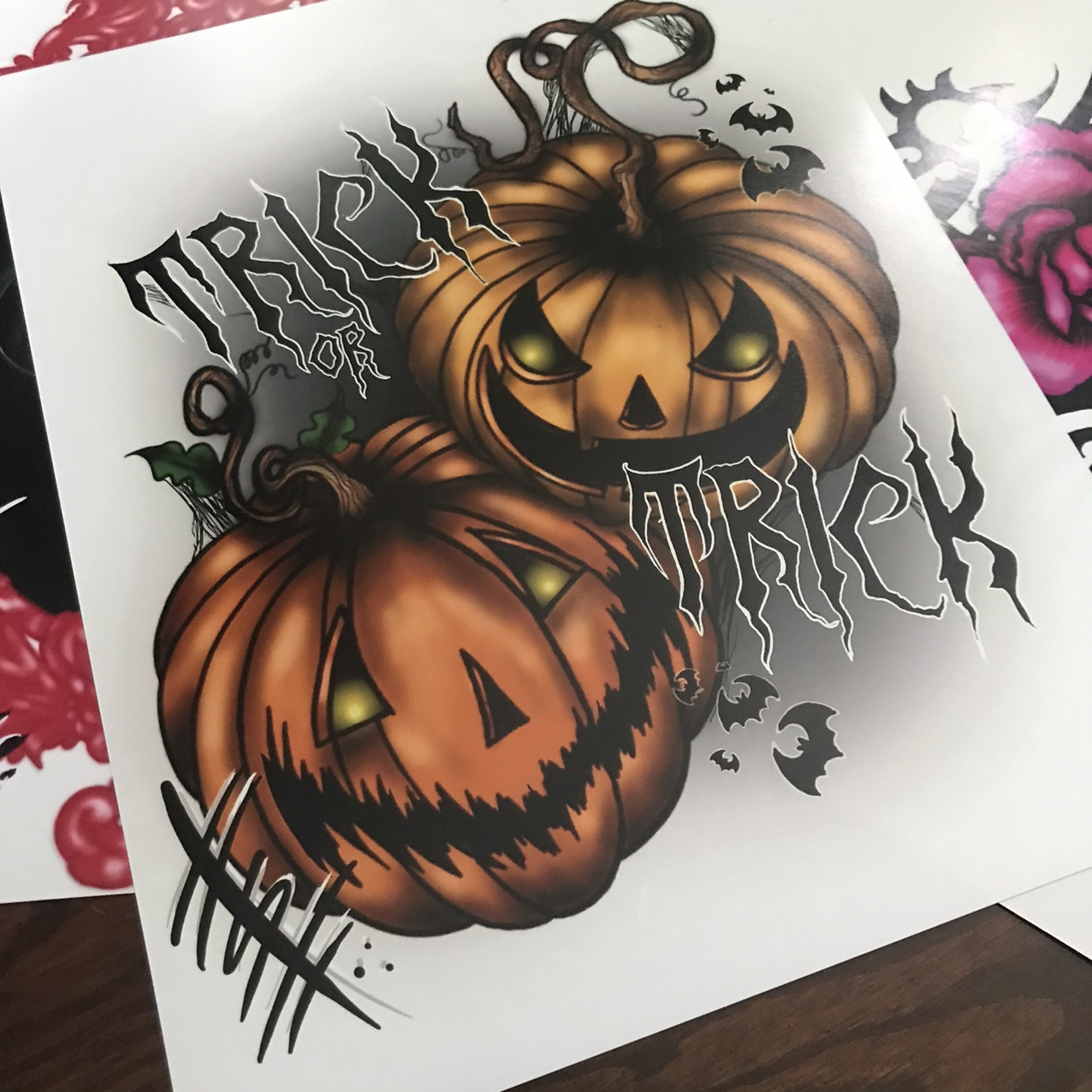 Trick or Treat Print