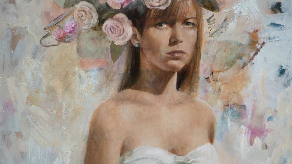 """Flower Bride"" Print"