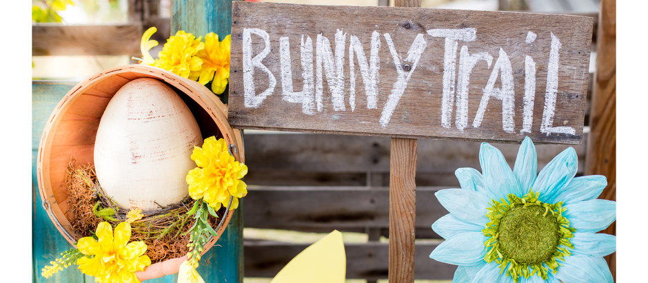 Easter garden styled mini sessions