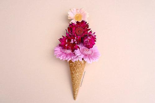 blossom colorful icecream