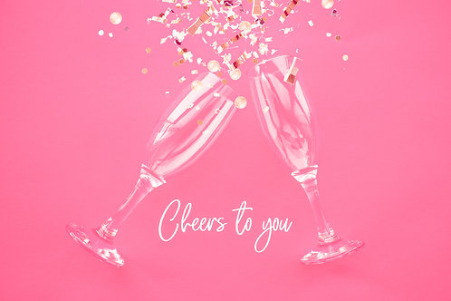cheers to you light pink
