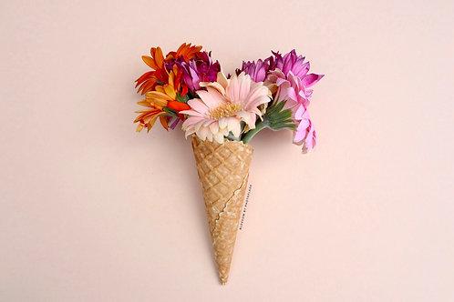 blossom icecream bouquet