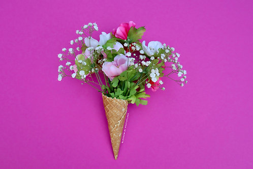 blossom icecream flowers