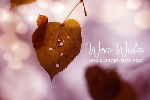 warm wishes heart