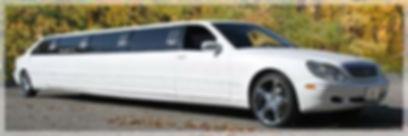 White Mercedes-Benz Limousine
